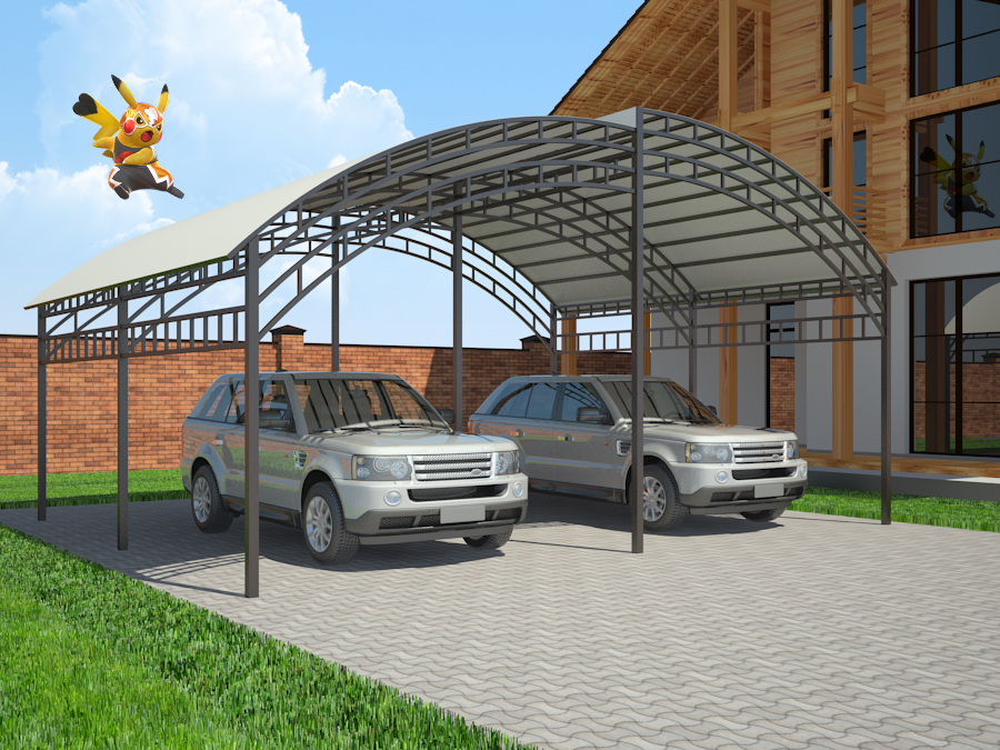 3d visualization of the project in the canopy 3d max, render vray 2.5 of inna_s