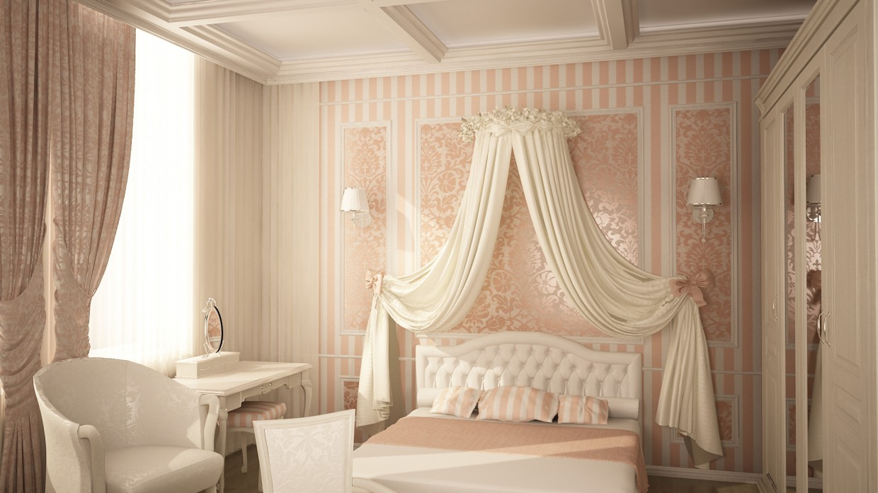 children bedroom in 3d max vray 2.0 image