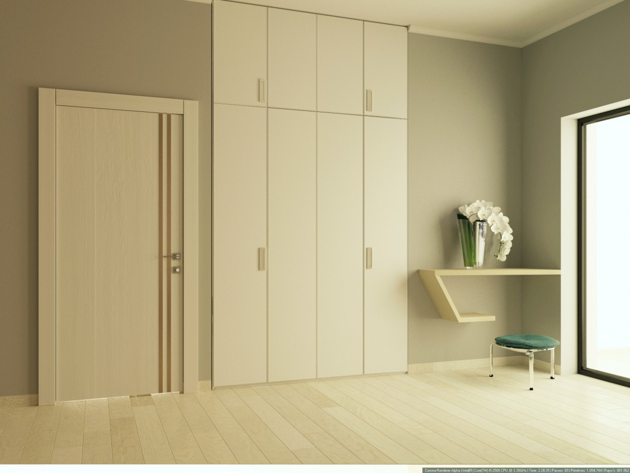 Hall in 3d max corona render immagine
