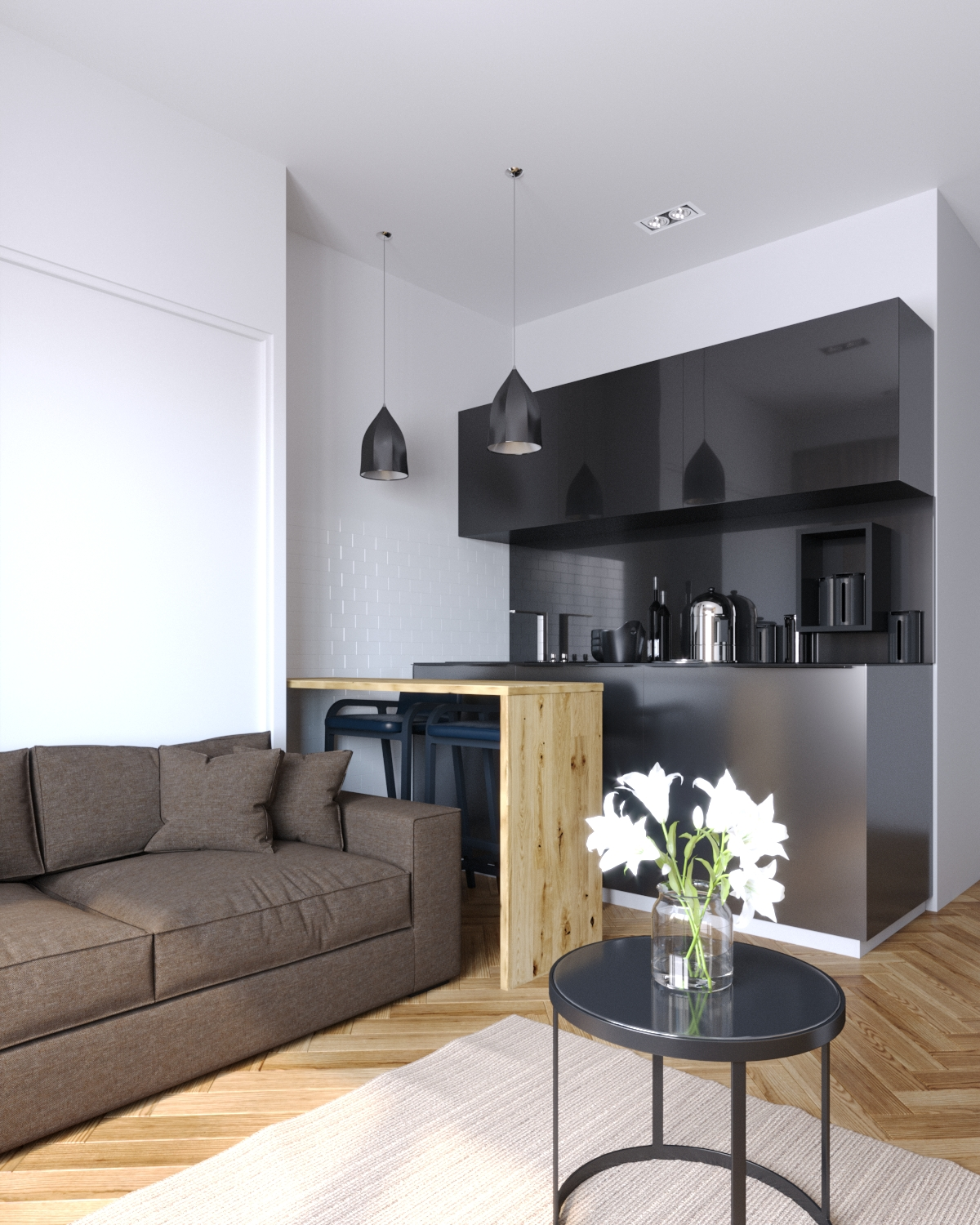test interior in 3d max corona render image
