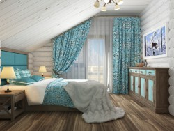 Bedroom chalet-style!