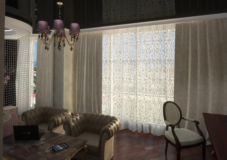 imagen de Habitación suite de lujo en 3d max vray