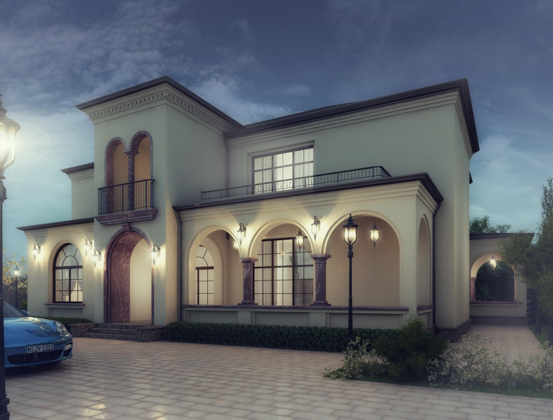 imagen de Villa en Bakú. Mardakan. en 3d max vray