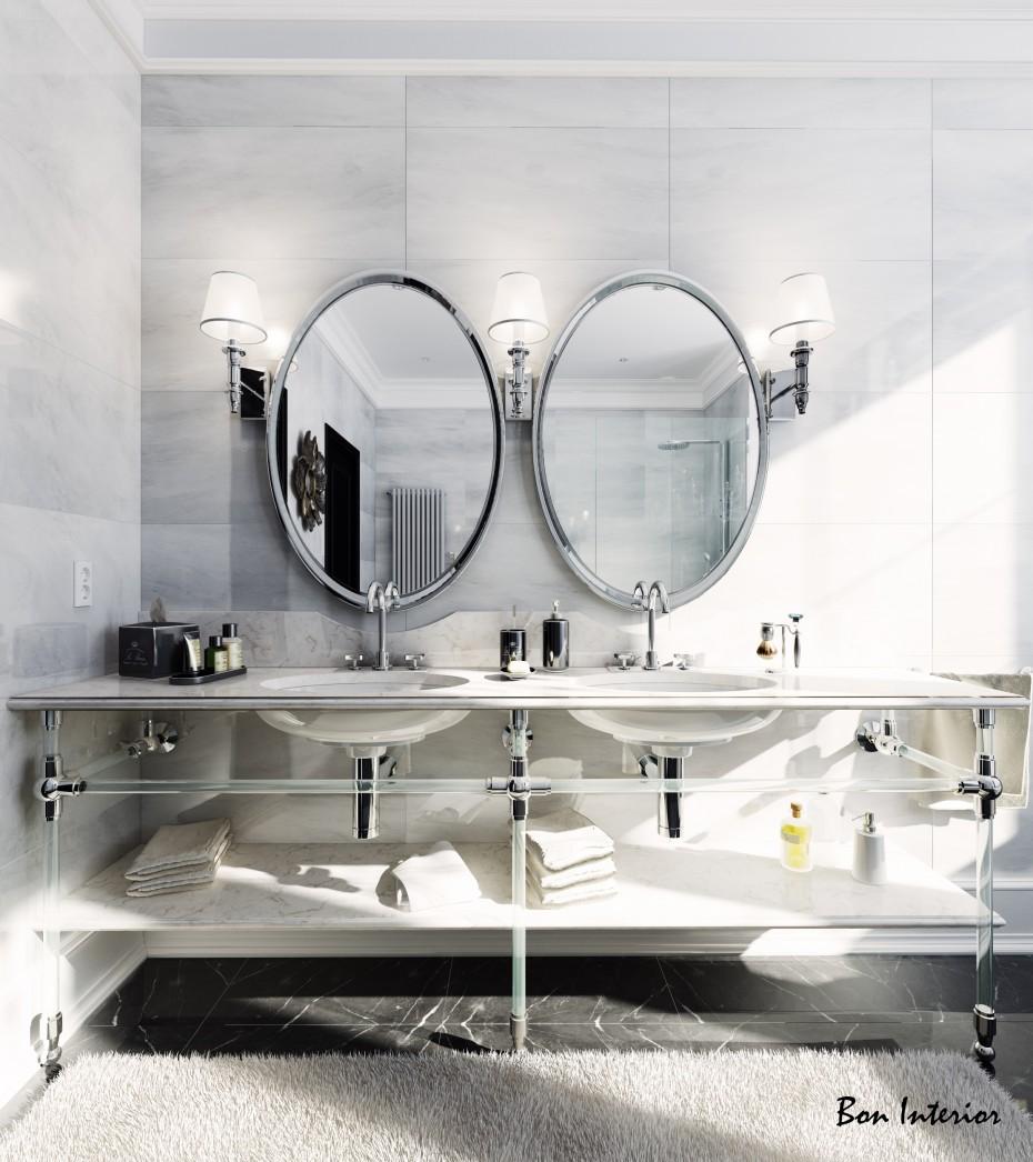 बाथरूम-Mountclair 3d max vray में प्रस्तुत छवि