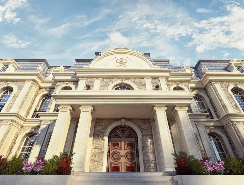 Villa in Baku.Mardakan. в 3d max vray зображення