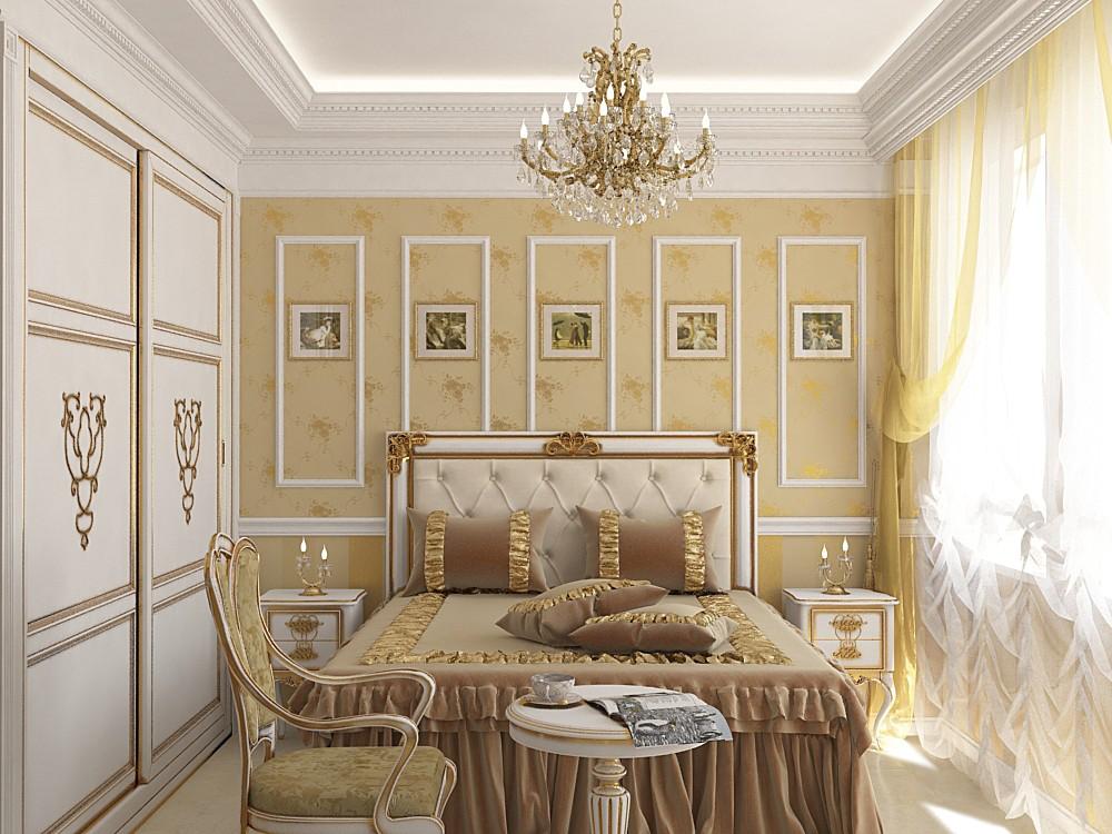 Спальня для гостей в 3d max vray зображення