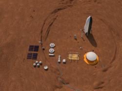 Terraformar Marte Colônia