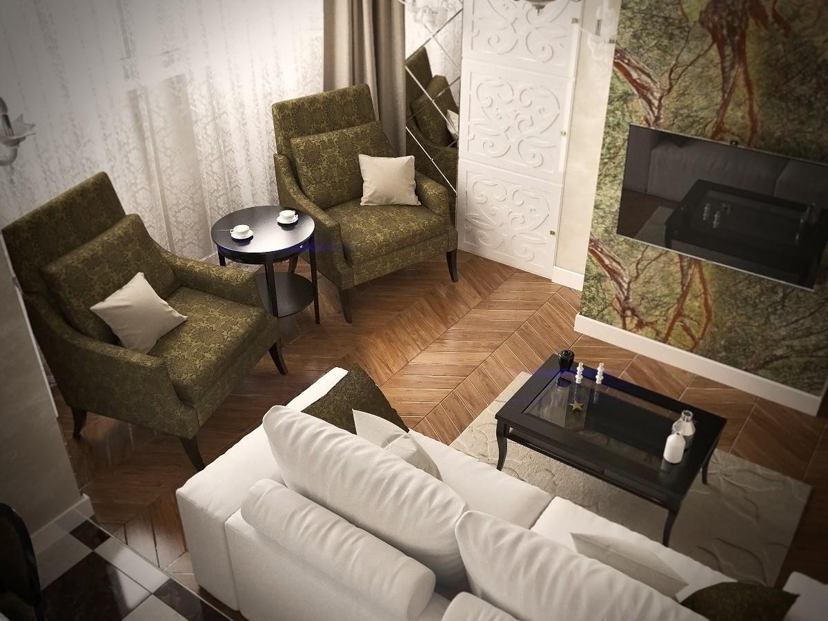 imagen de Neoclassics. en 3d max corona render