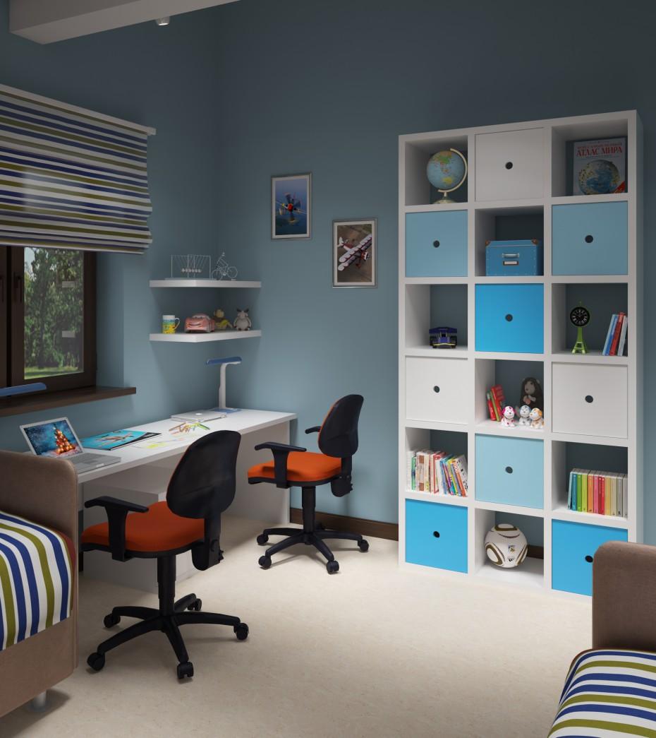 3d візуалізація проекту Дитяча кімната в 3d max, рендер vray 3.0 від Trygve