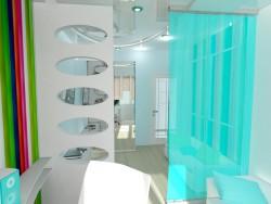 modèle 3D d'une chambre d'enfant
