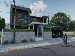 साधारण आधुनिक घर