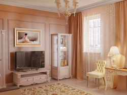 Cream living room