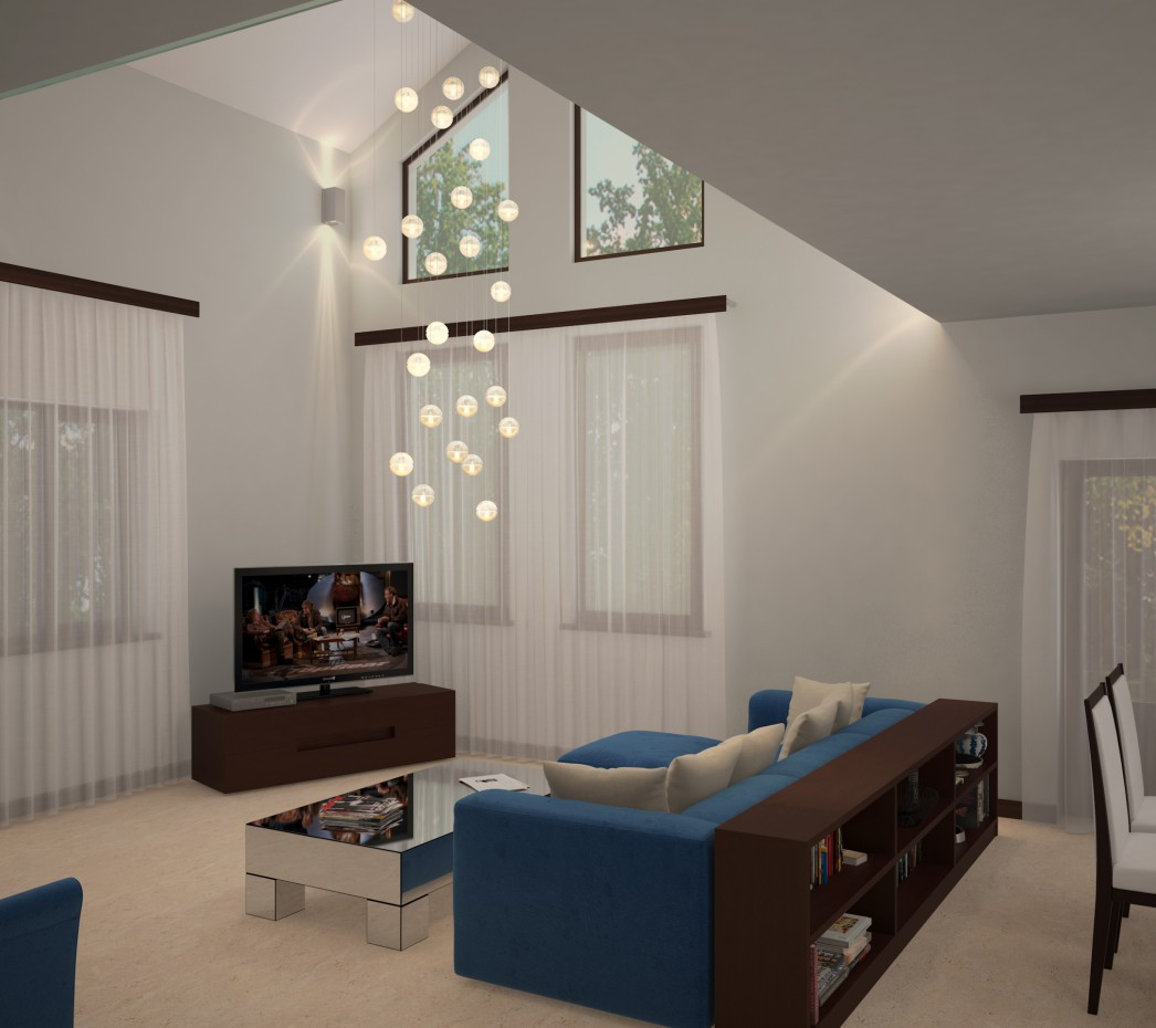 Living room  in  3d max   vray 3.0  image