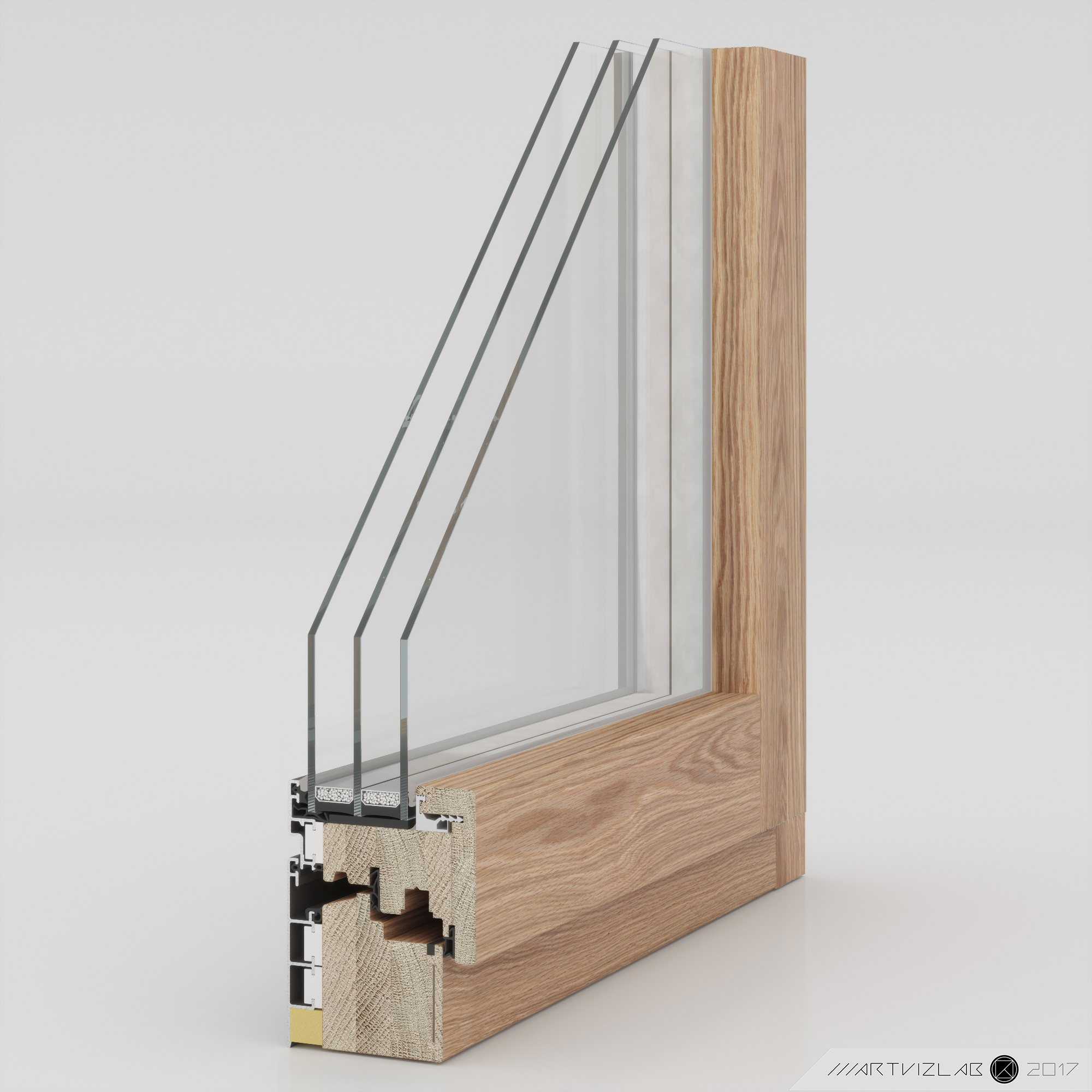 3d windows in 3d max corona render image