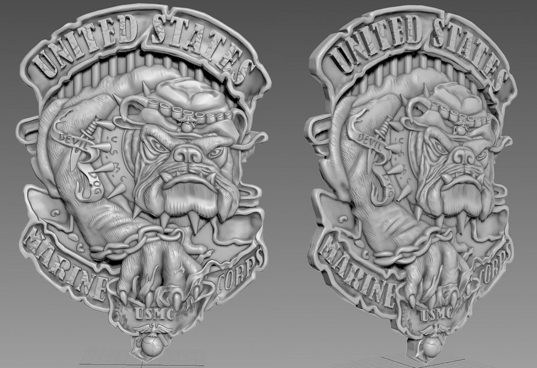 3D model in ZBrush vray 3.0 image