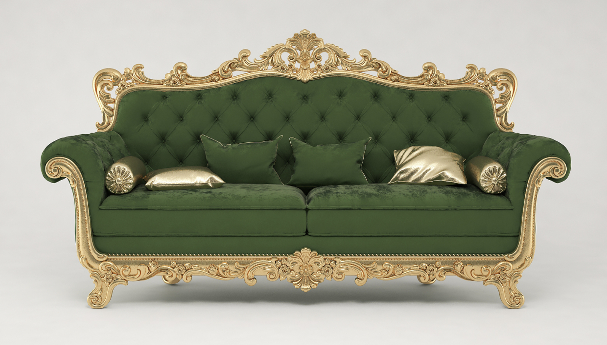 Sofa in 3d max vray 3.0 image