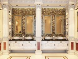 luxury classic handwash area