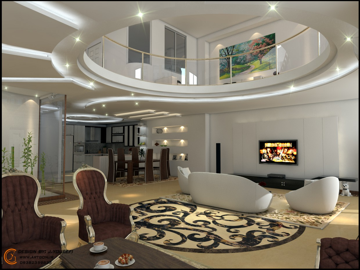Interior Design  Mr.ajam  in  3d max   vray  image