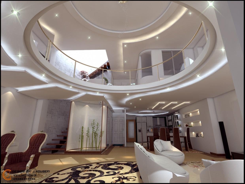 Дизайн интерьера Mr.ajam в 3d max vray изображение