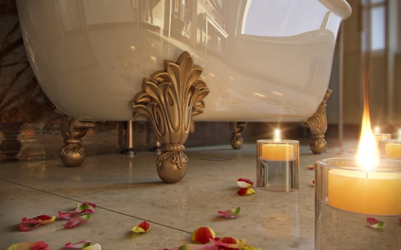 Ванна кімната в 3d max corona render зображення