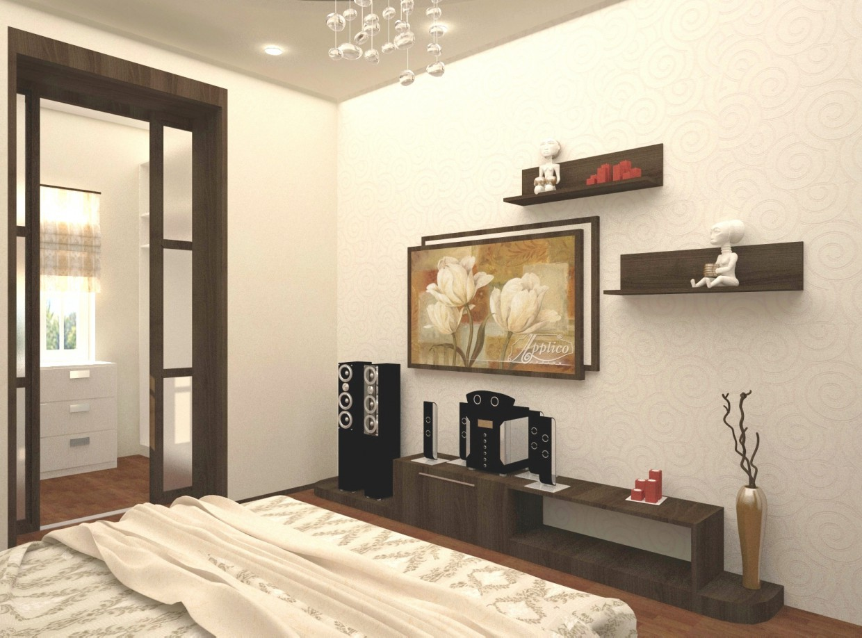 The Interior of an apartment in 3d max vray image