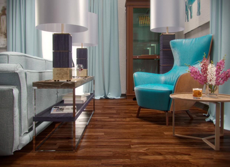 Boiserie showreel в 3d max corona render изображение