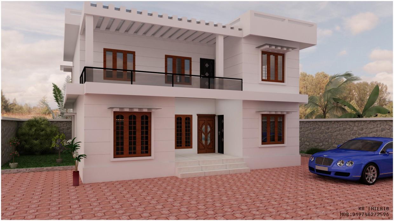 3d візуалізація проекту екстер'єр в 3d max, рендер vray 2.5 від harirahul
