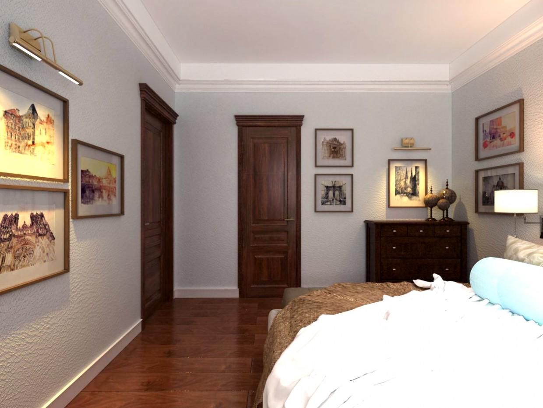 Реалізований дизайн-проект квартири в 3d max vray зображення