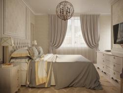 क्लासिक शैली का बेडरूम