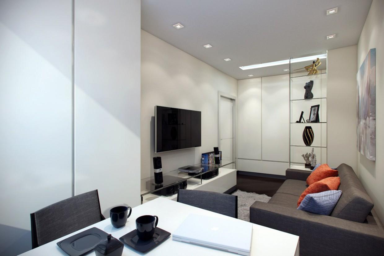 Appartement de Kiev dans 3d max vray image
