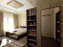 Habitación para estudiante de secundaria