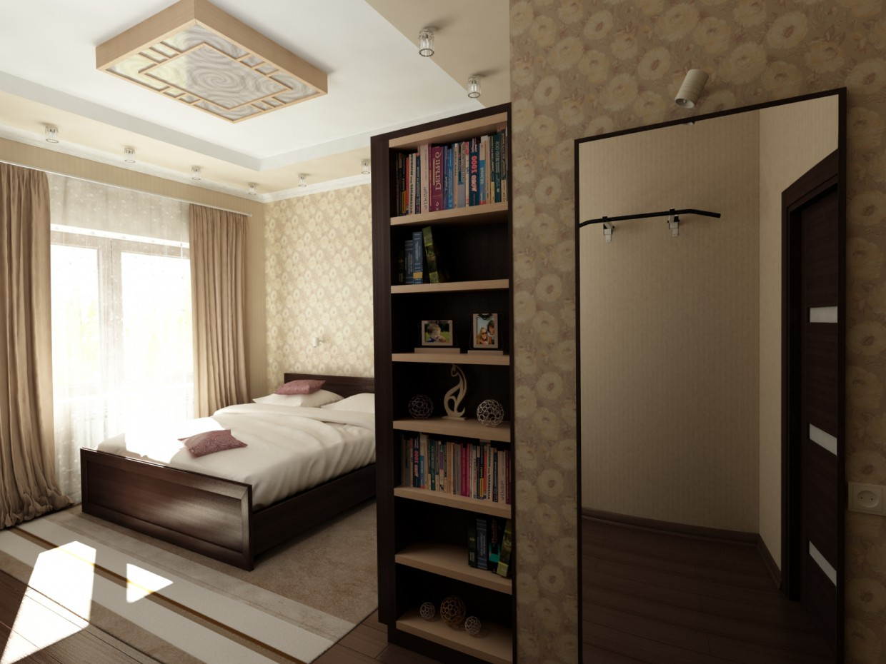 Bedroom for high school student in 3d max vray 3.0 image