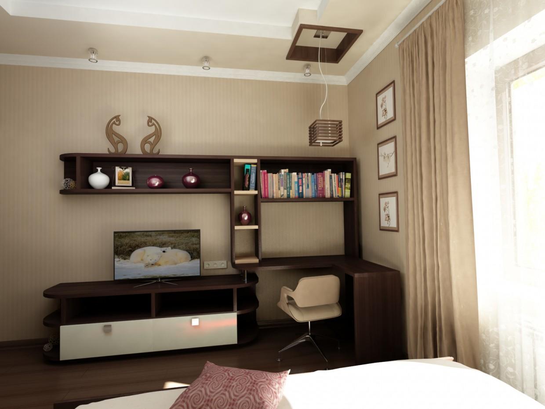 Спальня для старшеклассника в 3d max vray 3.0 изображение