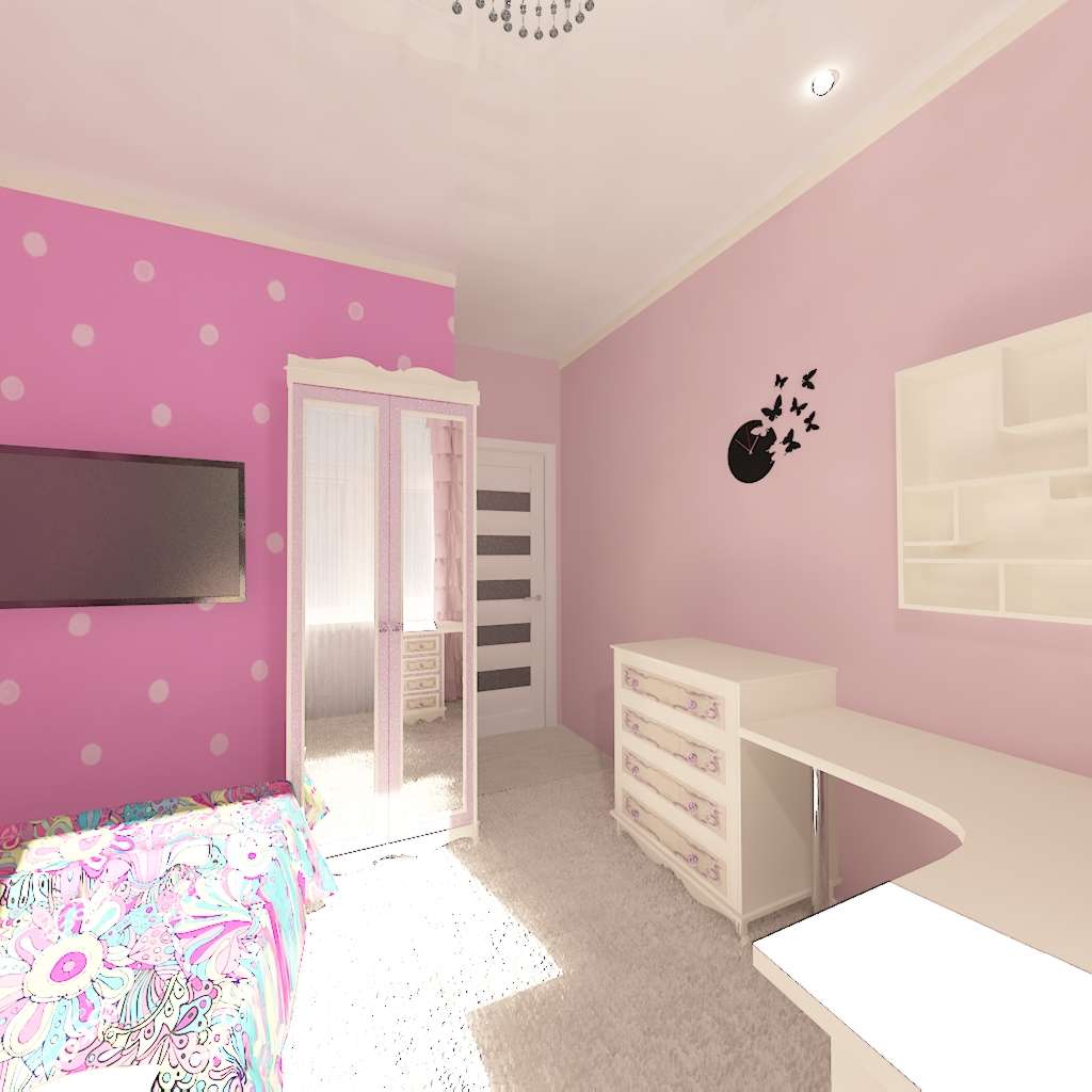 nursery in 3d max vray 2.0 image