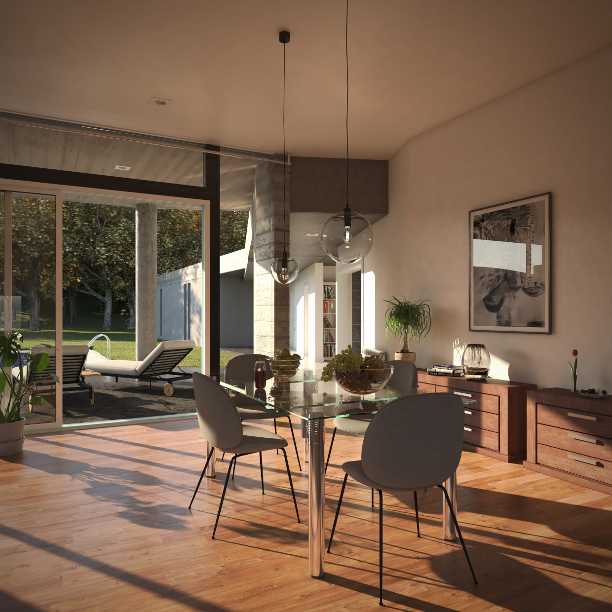 Cañuelas House in 3d max vray 3.0 image