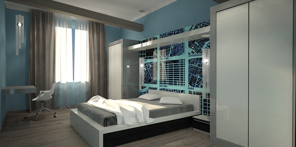 My work in 3d max vray image