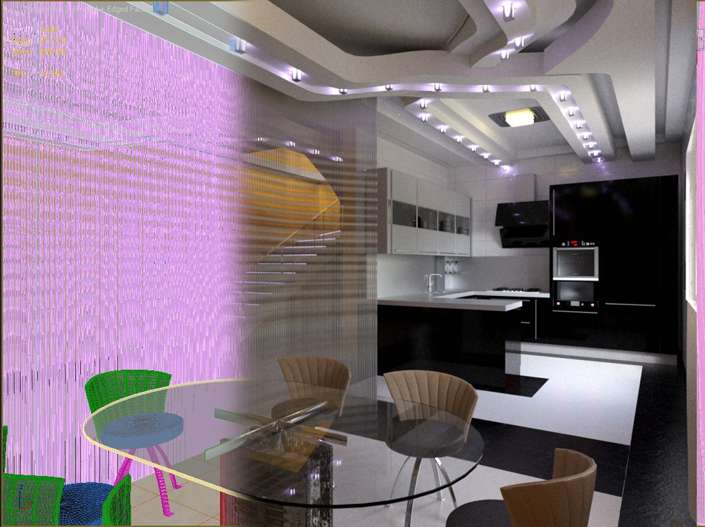 Kitchen in 3d max Other image
