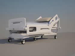 lit d'hôpital fonctionnel