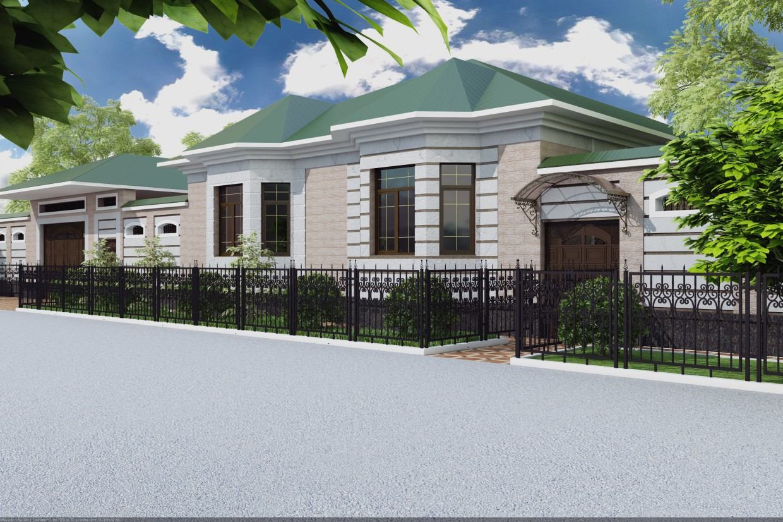 imagen de Casa en 3d max vray 3.0