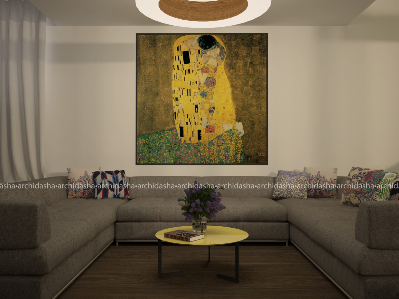 imagen de Sala de estar en 3d max vray 2.0