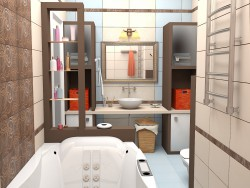 WC 7,5 m2