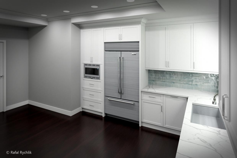 Cozinha Tradicional em 3d max mental ray imagem
