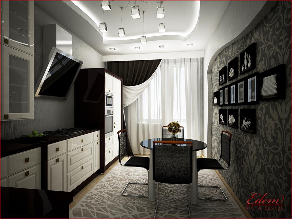 3d візуалізація проекту kuxnya в 3d max, рендер vray від urodi