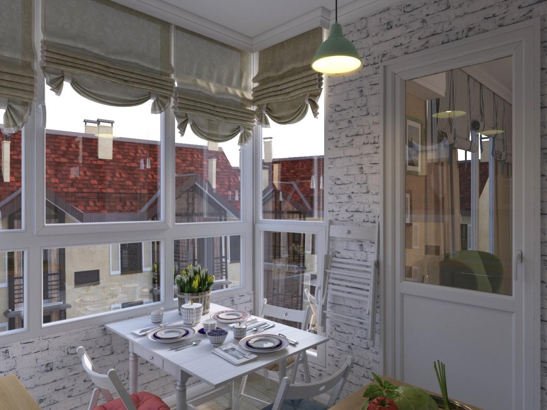 Кухня в 3d max corona render зображення
