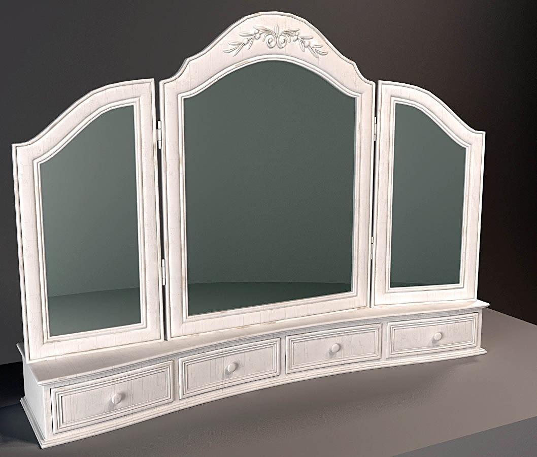 Floor mirror in 3d max vray image