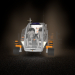 vehicle to Mars in Cinema 4d maxwell render image