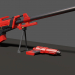 XCOM sniper rifle in Blender cycles render image