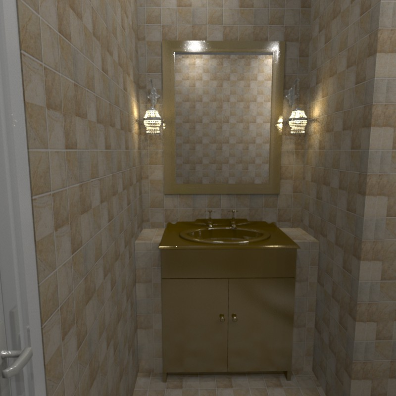 Bathroom in 3d max Other image