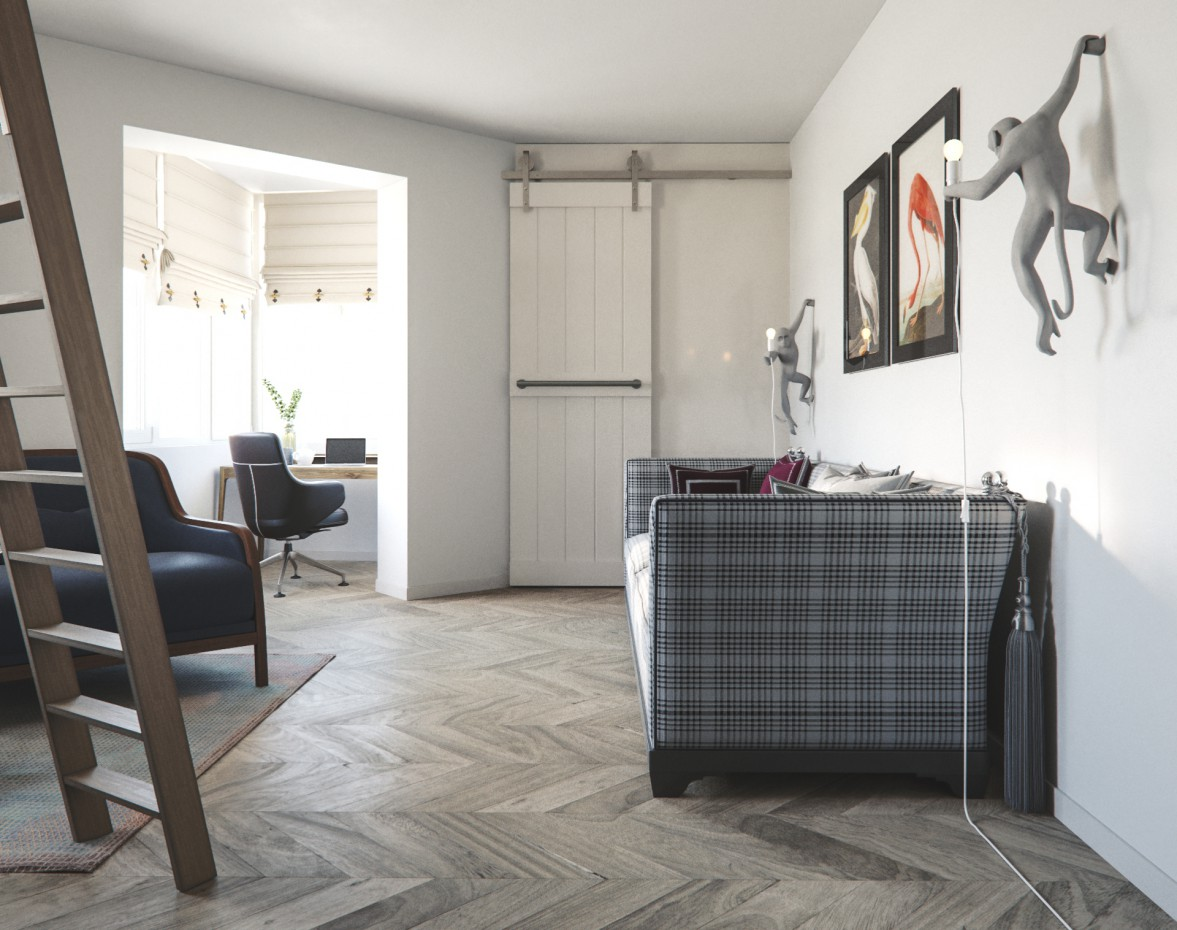 imagen de  Etno | Moderno  en  3d max   corona render