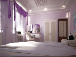 Bedroom for a girl